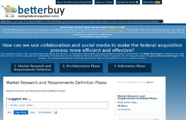 http://www.betterbuyproject.com/forums/29690-market-research-and-requirements-definition-phase