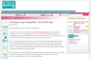 http://www.utalkmarketing.com/Pages/Article.aspx?ArticleID=21891&Title=Crowdsourcing_infographics_-_five_of_the_best