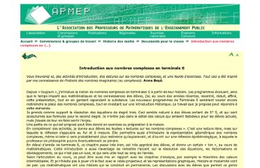 http://www.apmep.asso.fr/Introduction-aux-nombres-complexes