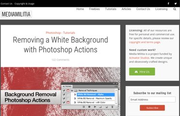 http://mediamilitia.com/removing-a-white-background-with-photoshop-actions/