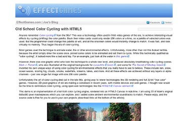 http://www.effectgames.com/effect/article.psp.html/joe/Old_School_Color_Cycling_with_HTML5?