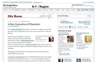 http://cityroom.blogs.nytimes.com/2011/10/10/a-new-generation-of-dissenters/