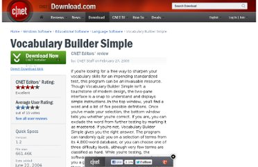 http://download.cnet.com/Vocabulary-Builder-Simple/3000-2279_4-10277868.html