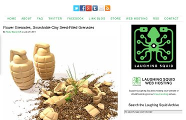 http://laughingsquid.com/flower-grenades-smashable-clay-seed-filled-grenades/