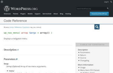 http://codex.wordpress.org/Function_Reference/wp_nav_menu