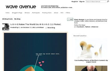 http://waveavenue.com/profiles/blogs/love-makes-the-world-go-weird