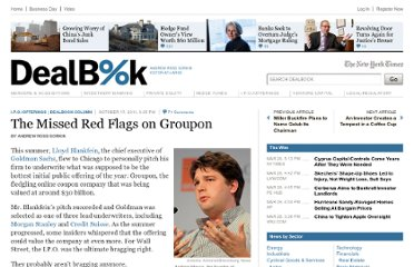 http://dealbook.nytimes.com/2011/10/17/the-missed-red-flags-on-groupon/