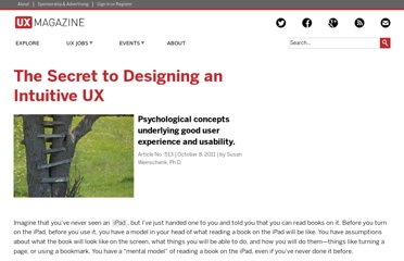 http://uxmag.com/articles/the-secret-to-designing-an-intuitive-user-experience
