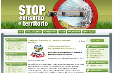 http://www.stopalconsumoditerritorio.it/index.php?option=com_content&task=view&id=457&Itemid=1