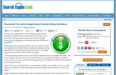 http://searchengineland.com/download-the-latest-google-search-quality-rating-guidelines-97391