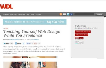 http://webdesignledger.com/tips/teaching-yourself-web-design-while-you-freelance