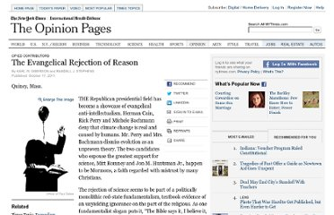 http://www.nytimes.com/2011/10/18/opinion/the-evangelical-rejection-of-reason.html