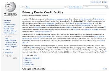 http://en.wikipedia.org/wiki/Primary_Dealer_Credit_Facility
