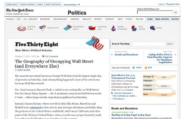 http://fivethirtyeight.blogs.nytimes.com/2011/10/17/the-geography-of-occupying-wall-street-and-everywhere-else/
