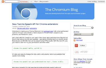 http://blog.chromium.org/2011/10/new-text-to-speech-api-for-chrome.html