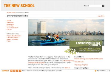 http://www.newschool.edu/environmental-studies/
