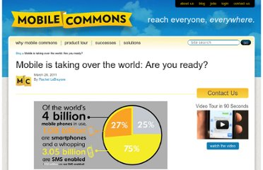 http://www.mobilecommons.com/blog/2011/03/mobile-is-taking-over-the-world-are-you-ready/