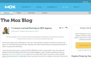 http://www.seomoz.org/blog/7-lessons-learned-from-running-a-seo-agency-14225