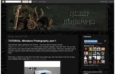 http://nesbetminiatures.blogspot.com/2011/02/tutorial-miniature-photography-part-1.html