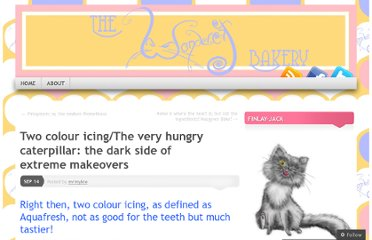 http://wondercatbakery.wordpress.com/2011/09/14/two-colour-icingthe-very-hungry-caterpillar-the-dark-side-of-extreme-makeovers/