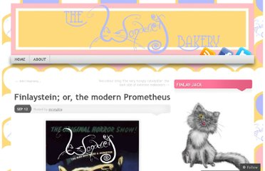 http://wondercatbakery.wordpress.com/2011/09/12/finlaystein-or-the-modern-prometheus/