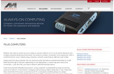 http://www.marvell.com/solutions/plug-computers/
