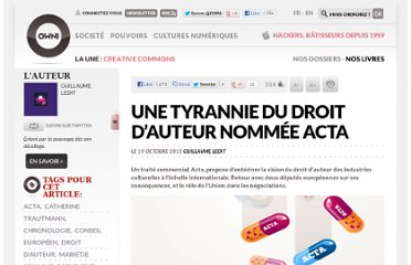 http://owni.fr/2011/10/19/une-tyrannie-droit-auteur-nommee-acta-propriete-intellectuelle-union-europeenne/
