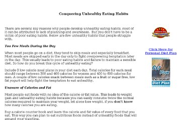 http://www.dietforum.com/unhealthy-eating-habits.htm