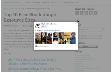 http://stylishwebdesigner.com/top-10-free-stock-image-resource-sites/