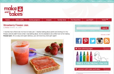 http://www.makeandtakes.com/strawberry-freezer-jam