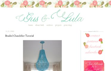 http://www.gusandlula.com/2010/08/beaded-chandelier-tutorial.html