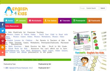http://www.english-4kids.com/flashcards.html