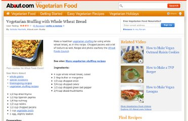 http://vegetarian.about.com/od/stuffingdressingrecipes/r/stuffing1.htm