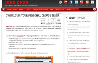http://www.webupd8.org/2011/10/owncloud-2-your-personal-cloud-server.html
