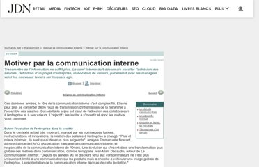 http://www.journaldunet.com/management/dossiers/0705189-communication-interne/motivation.shtml