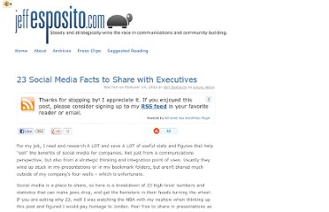 http://jeffesposito.com/2011/02/14/social-media-facts-share-executives/#.TpCDRDKreZg.mailto
