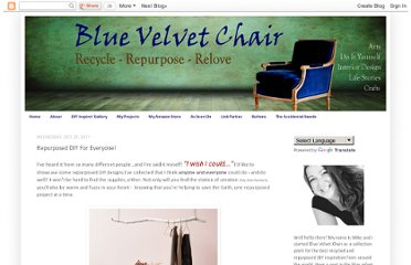 http://bluevelvetchair.blogspot.com/2011/07/repurposed-diy-for-everyone.html