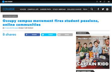 http://www.usatodayeducate.com/staging/index.php/ccp/occupy-campus-movement-fires-student-passions-online-communities
