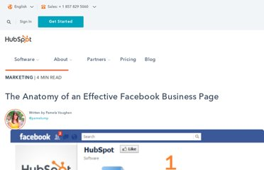 http://blog.hubspot.com/blog/tabid/6307/bid/27537/The-Anatomy-of-an-Effective-Facebook-Business-Page.aspx