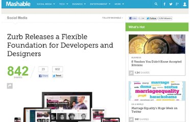 http://mashable.com/2011/10/19/zurb-foundation/