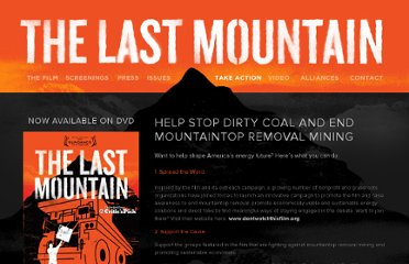 http://thelastmountainmovie.com/take-action/