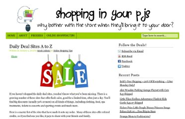 http://shoppinginyourpjs.com/2011/01/daily-deal-sites/