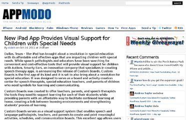 http://appmodo.com/57116/new-ipad-app-provides-visual-support-for-children-with-special-needs/