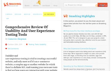 http://uxdesign.smashingmagazine.com/2011/10/20/comprehensive-review-usability-user-experience-testing-tools/