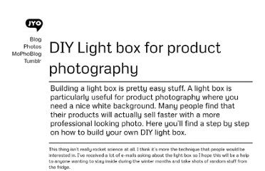 http://jyoseph.com/blog/diy-light-box-for-product-photography/