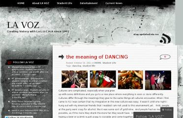 http://lavozmagsu.wordpress.com/2011/10/19/the-meaning-of-dancing/