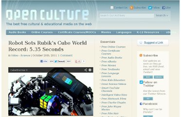 http://www.openculture.com/2011/10/cubestormer_ii_solves_the_rubiks_cube_in_5_seconds_flat.html