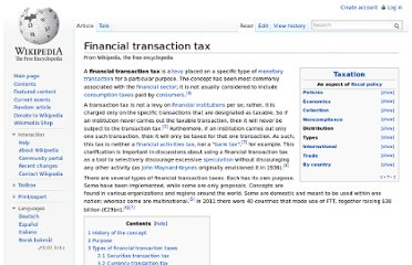http://en.wikipedia.org/wiki/Financial_transaction_tax
