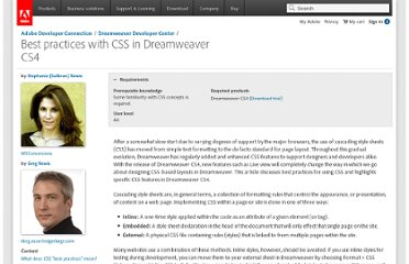 http://www.adobe.com/devnet/dreamweaver/articles/css_best_practices.html