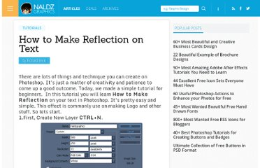 http://naldzgraphics.net/tutorials/how-to-make-reflection-on-text/